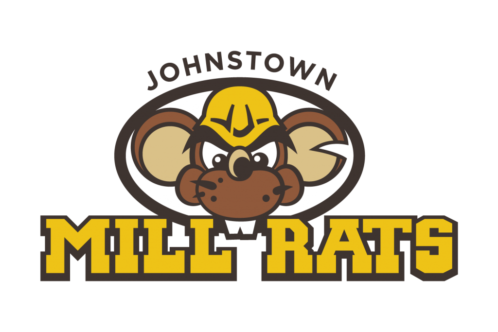Johnstown Mill Rats Baseball Team Logo