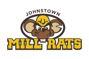 Johnstown Mill Rats Baseball Team Logo